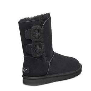 UGG Bailey Fluff Buckle Boots
